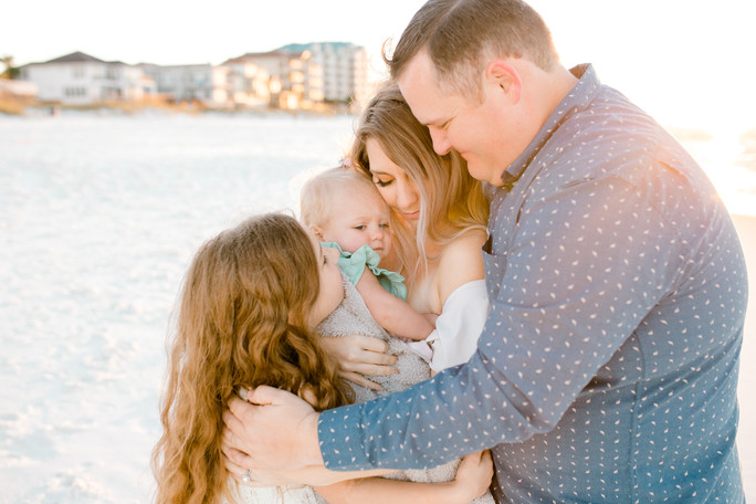Clegg Family | Destin Beach Sunrise Session