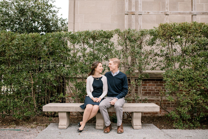 Katherine & Blake | Chrysler Museum of Art | Norfolk Engagement Session