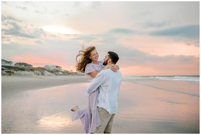 Savannah & Nathanael | Outer Banks Engagement