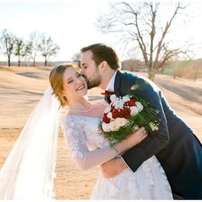 Allison + John Luke   Oklahoma Winter Wedding