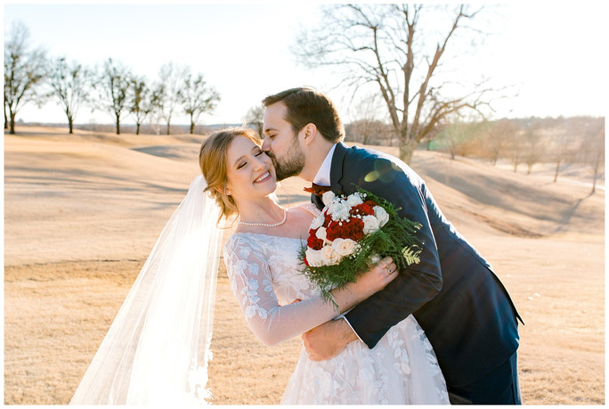 Allison + John Luke | Oklahoma Winter Wedding