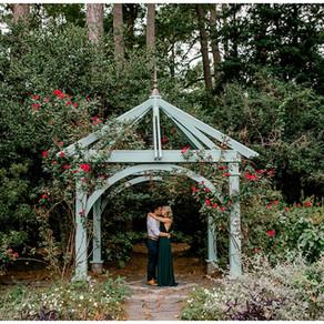 Brittany & Josh Engagement   Norfolk Botanical Gardens
