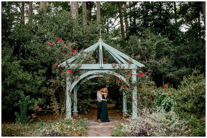 Brittany & Josh Engagement | Norfolk Botanical Gardens