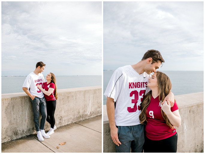 Sarah & Brad | Anniversary & Graduation Session | Fort Monroe, VA