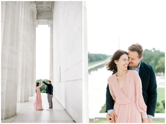 Andrew & McKenna | D.C. Engagement Session