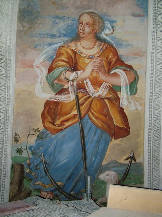 Particolare affreschi Chiesa di S. Michele
