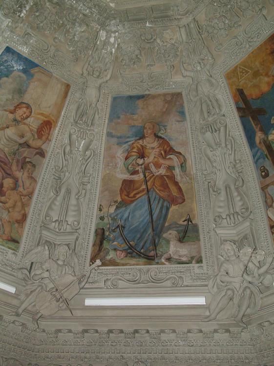 Affreschi cupola Chiesa S. Michele