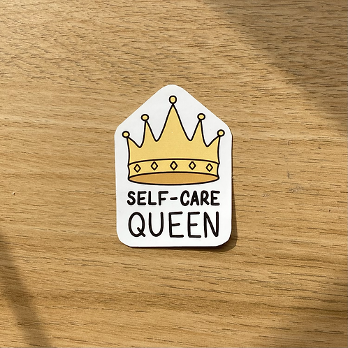 Self Care Queen (/King) Sticker