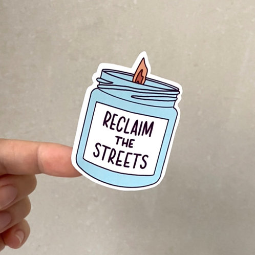 Reclaim the Streets Vinyl Sticker