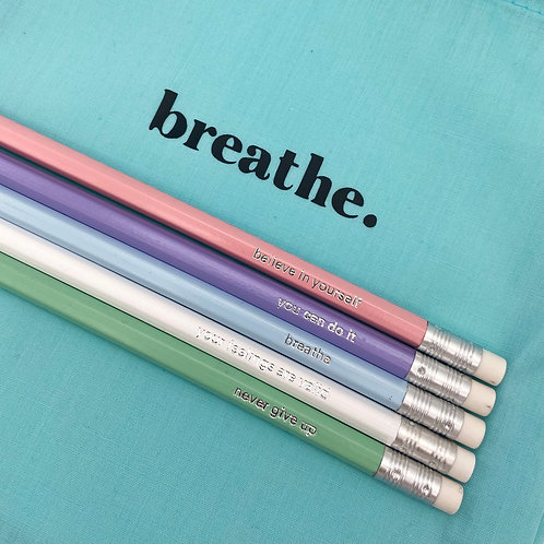Positive Pencils - pack of 5