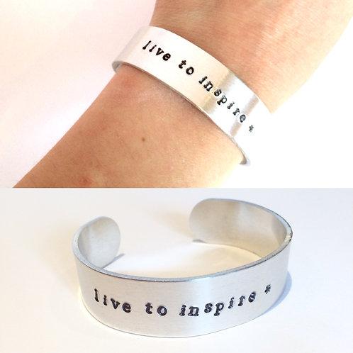 Personalised Cuff Bracelet