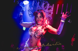Showgirl Podium dancer