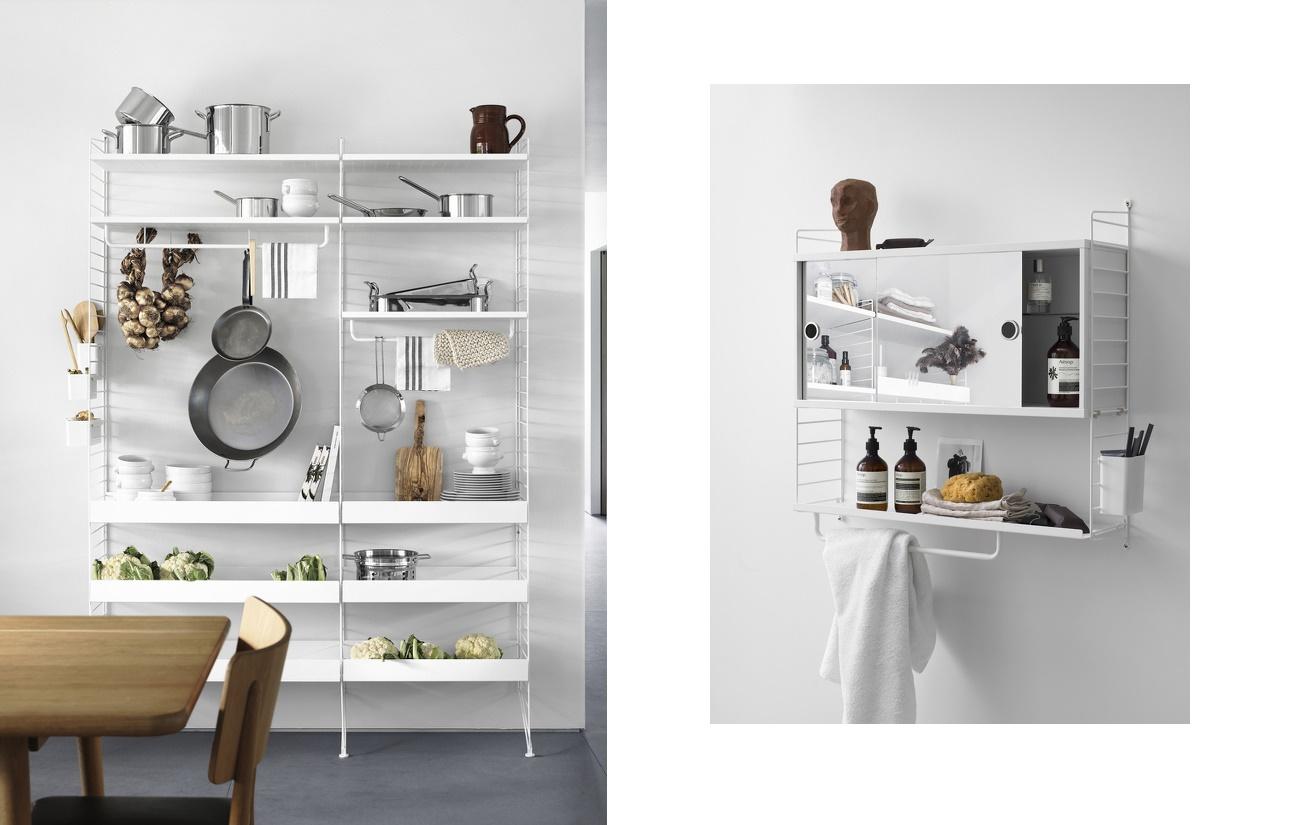 String voor keuken en badkamer