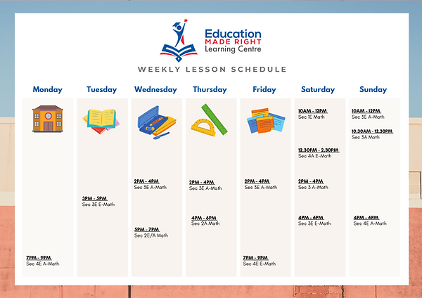 Mathematics page Schedule.png