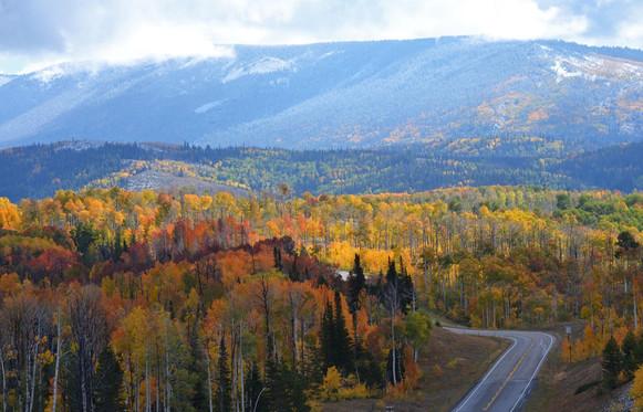 Battle Highway in Fall