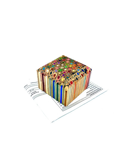 Colored Pencil Paperweight