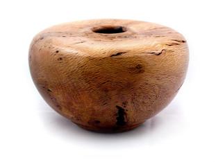 Oak Burl Hollow Form