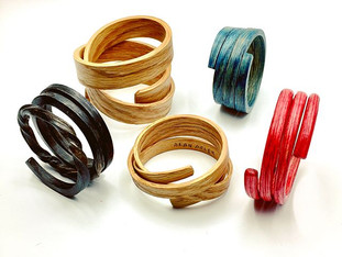 Bent Wood Bracelets and Bangles