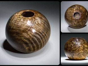 Cyclopes Wood Bowl