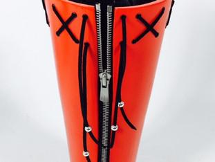 Teenager Zipper Vase