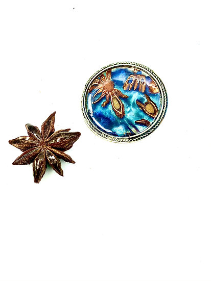 Star Anise Pin