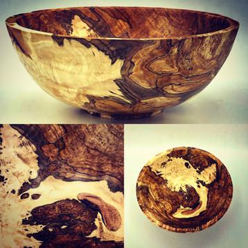 Georgeous Maple Burl Bowl
