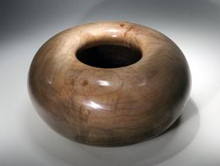 Wooden Maple Donut