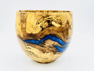 River Runs Through Vase