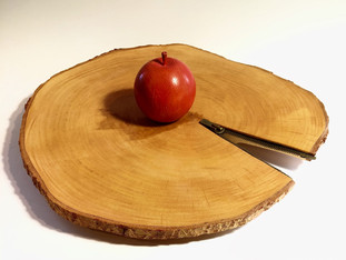 Birch Wood Zipper Platter