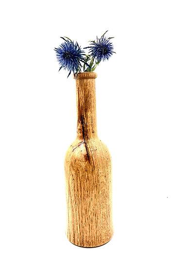 Wooden Wine Bottle