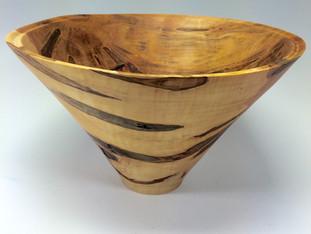 Ambrosia Wood Vase