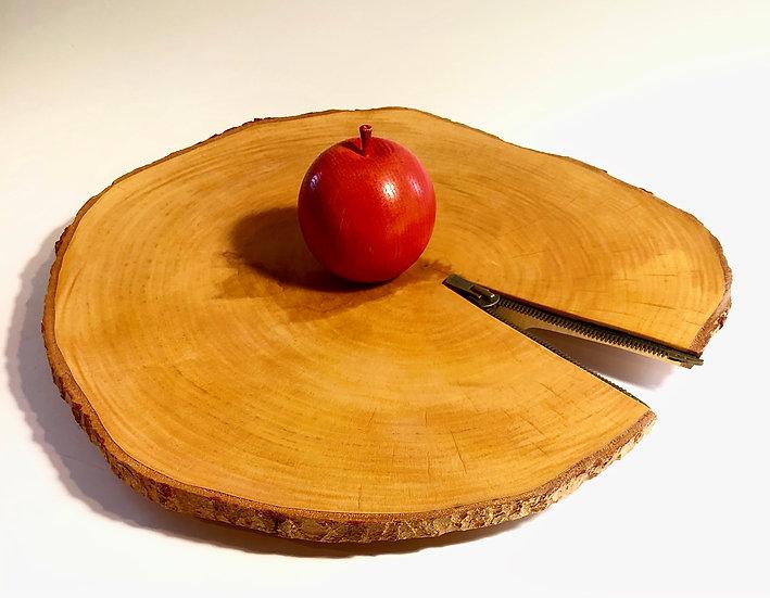 Birch Platter with Zipper