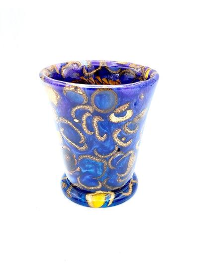 Acorn and Pinecone Vase