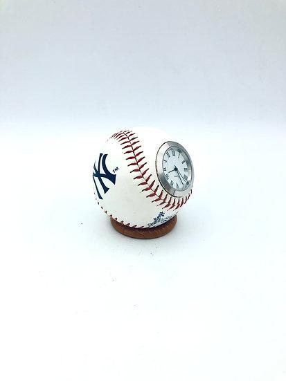 New York Yankee Baseball Clock