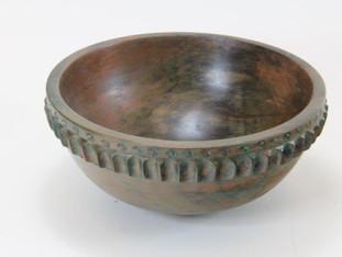 Artifact Wood Bowl