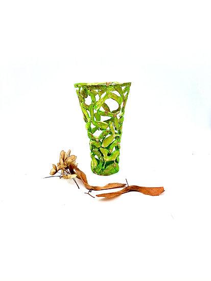 Maple Tree Seed Sculpture - Wood Art