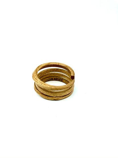 Bent Wood Coiled Bracelet