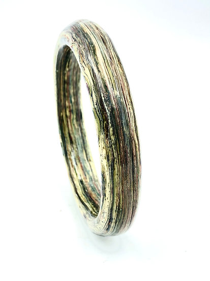 Paper and Resin Bangle
