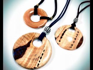 Wood Jewelry Pendants