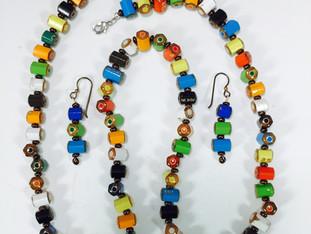 Colored Pencil Necklace