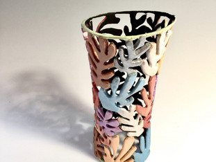 Carved Matisse Vase