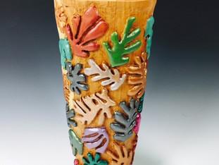 Matisse Falling Leaves Vase
