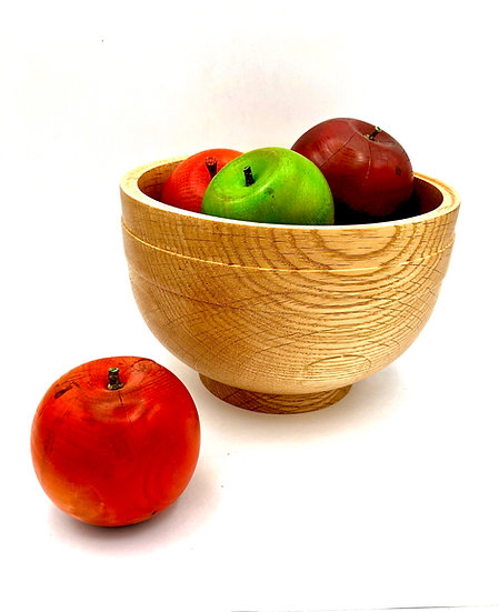 Oak Fruit Bowl