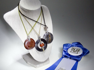 First Place for Wood Jewelry