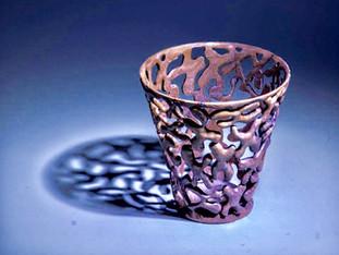 Fragile X Carved Vase