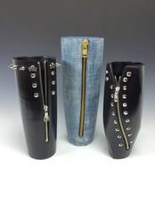 Zipper Vase Series