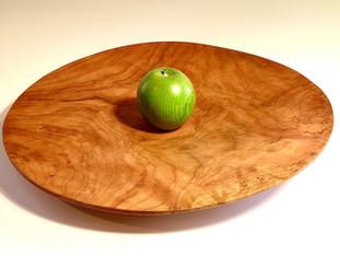 Stunning Cherry Burl Platter