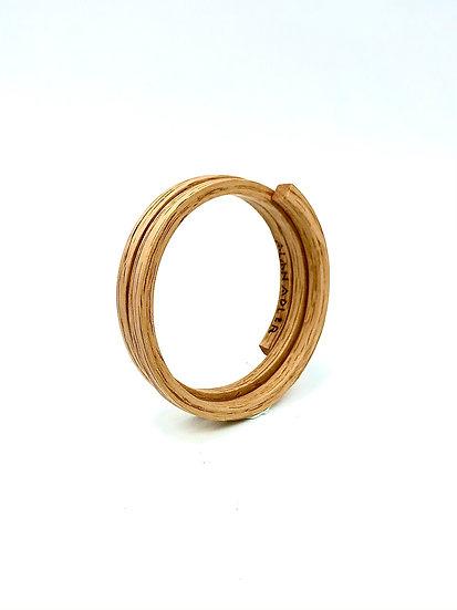 Oak Coiled Bracelet