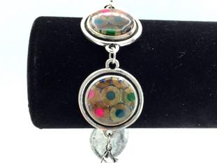 Round Colored Pencil Bracelet