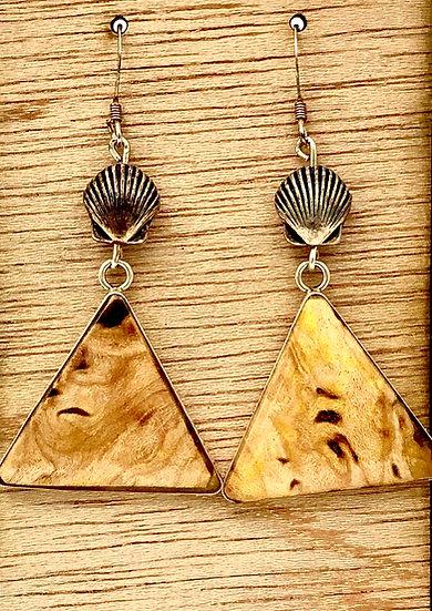 Triangle Shape Colored Pencil Earrings